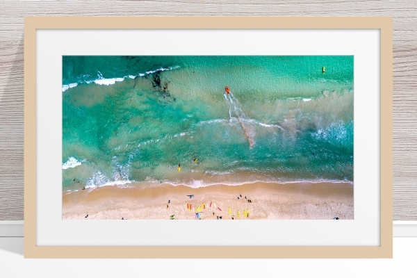 094 - Jason Mazur - 'Trigg Beach Surf Carnival' Light Frame
