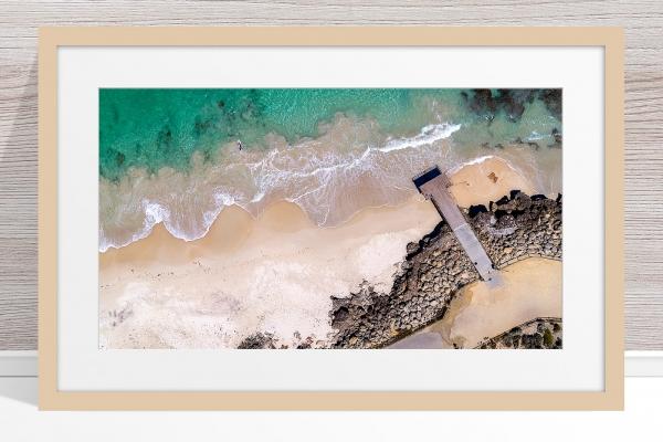 105 - Jason Mazure - 'North Beach Paddler' Light Frame
