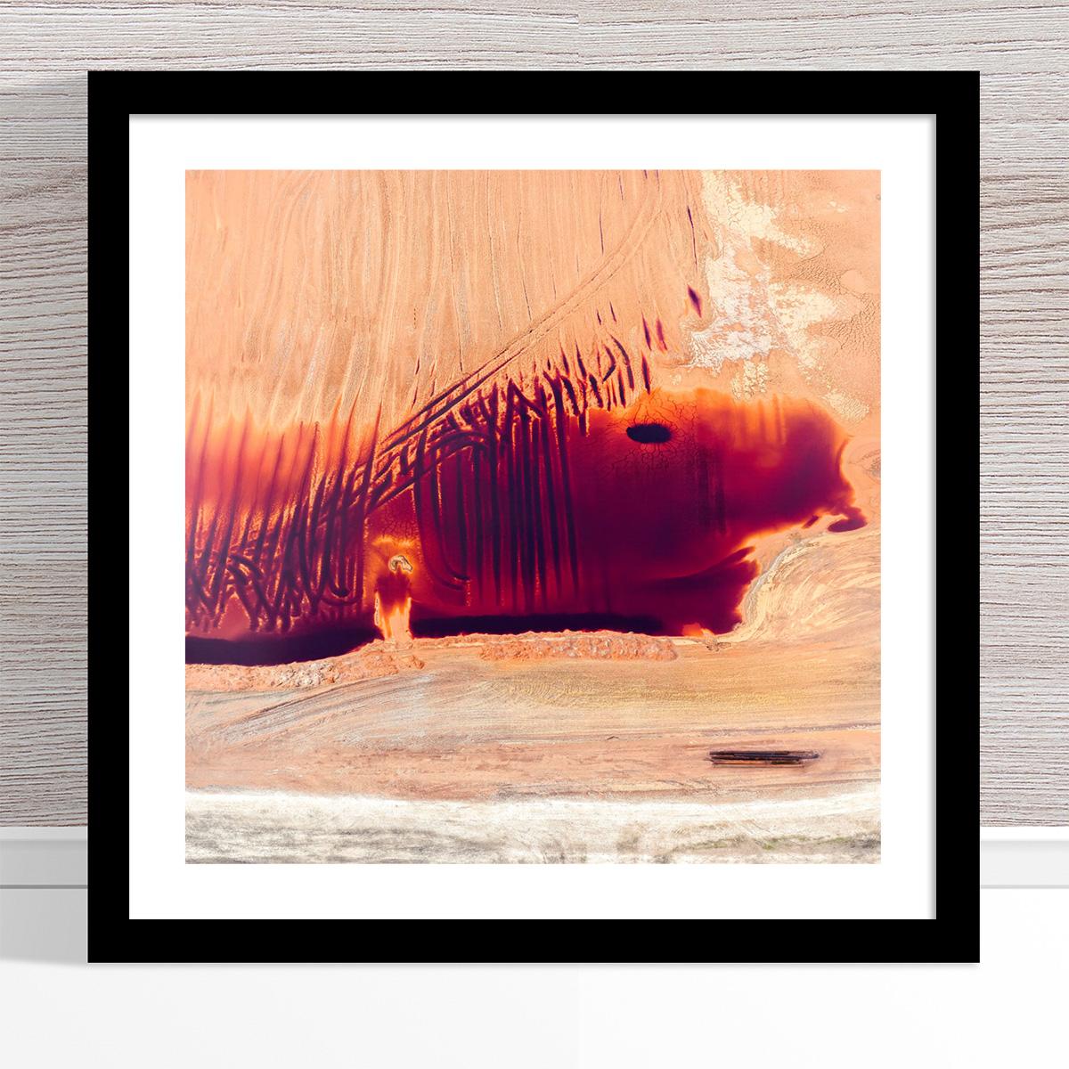 Chris Saunders - 'Aerial Alcoa 003' Black Frame