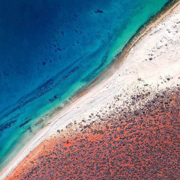 Chris Saunders - 'Aerial Coast 001'
