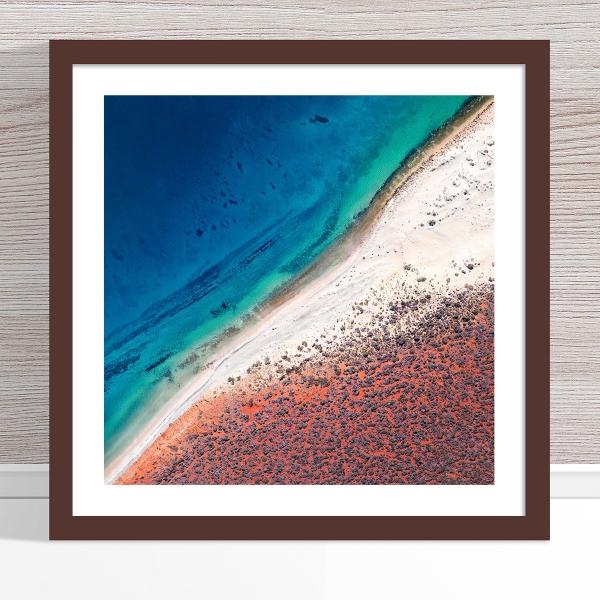 Chris Saunders - 'Aerial Coast 001' Dark Frame