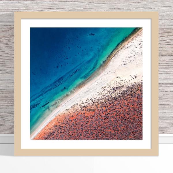 Chris Saunders - 'Aerial Coast 001' Light Frame