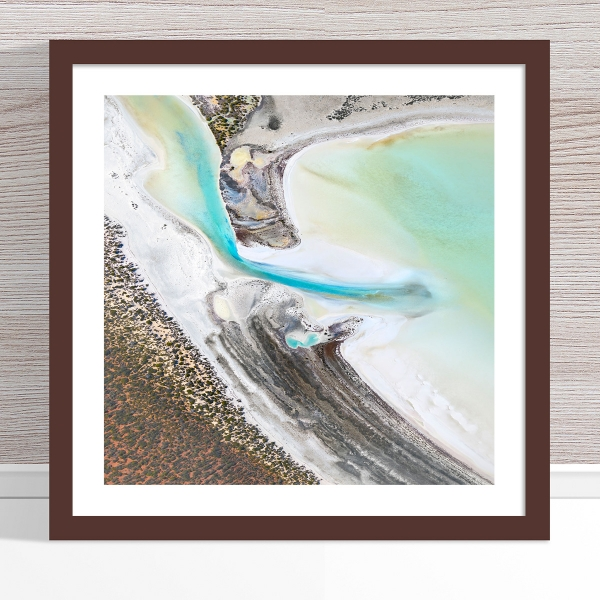 Chris Saunders - 'Aerial Coast 002' Dark Frame