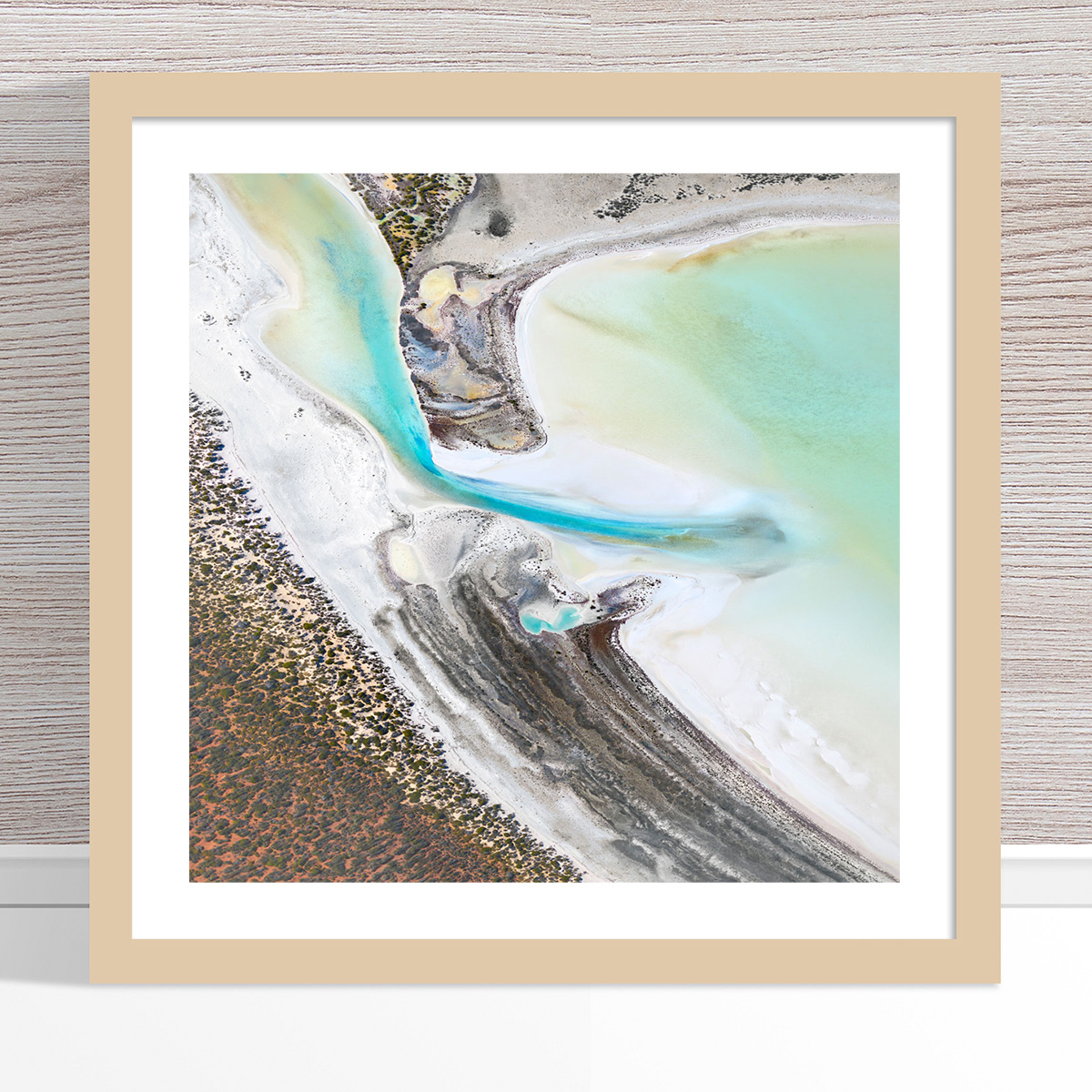 Chris Saunders - 'Aerial Coast 002' Light Frame