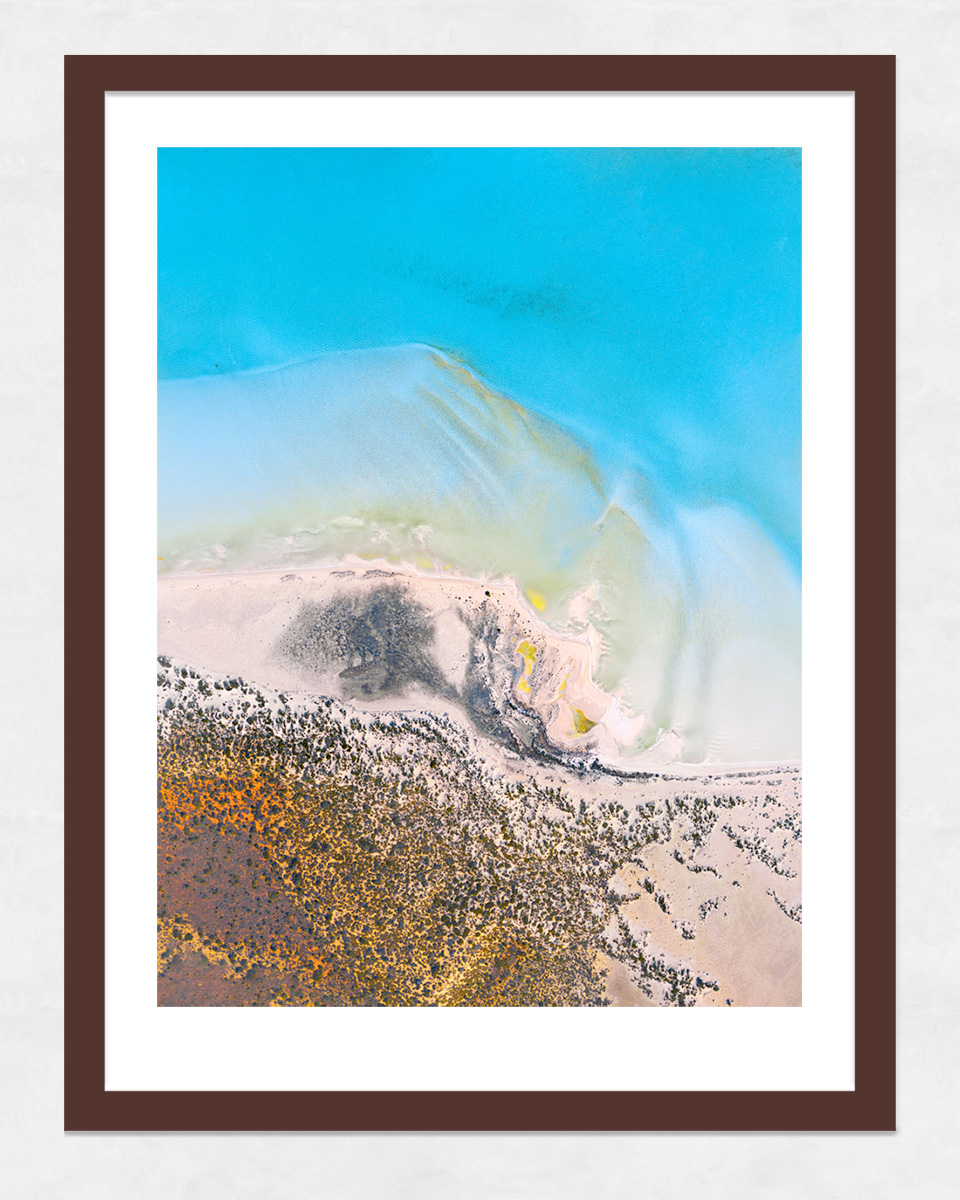 Chris Saunders - 'Aerial-Coast-004' Dark Frame
