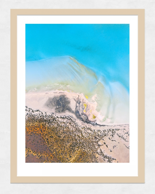 Chris Saunders - 'Aerial-Coast-004' Light Frame