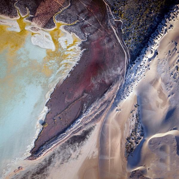 Chris Saunders - 'Aerial Coast 005'