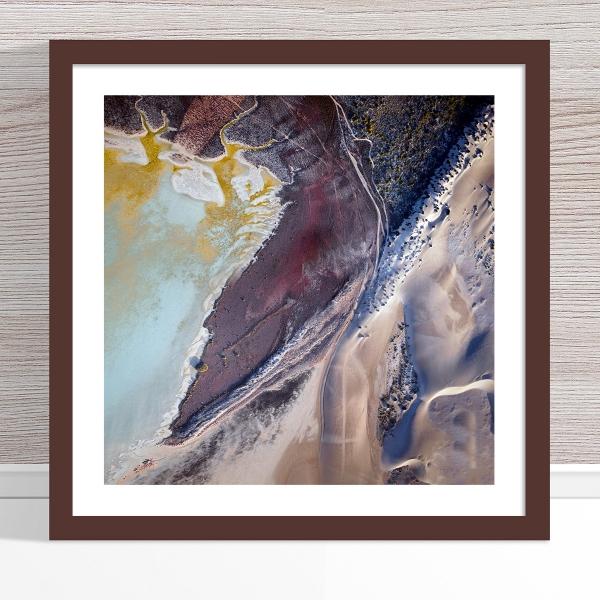 Chris Saunders - 'Aerial Coast 005' Dark Frame
