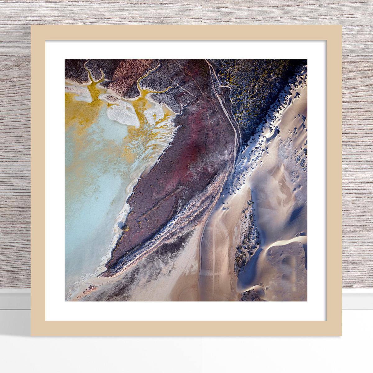Chris Saunders - 'Aerial Coast 005' Light Frame