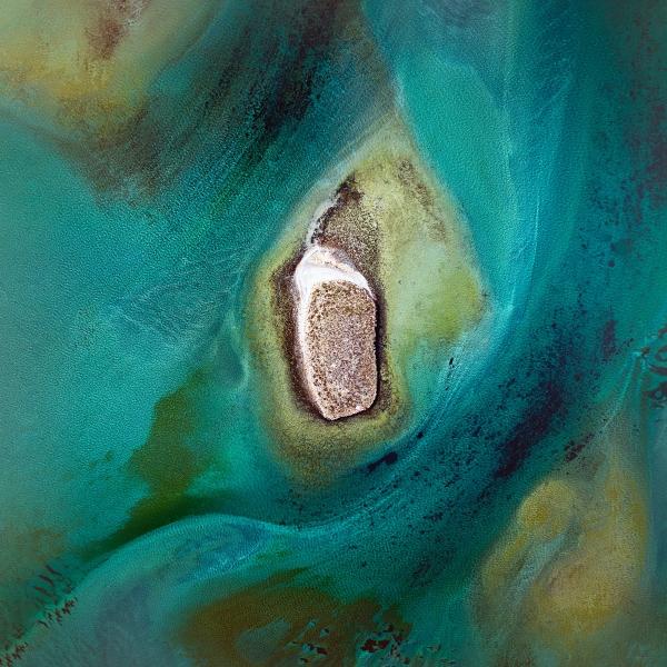 Chris Saunders - 'Aerial Coast 006'