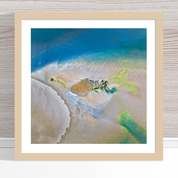 Chris Saunders - 'Aerial Coast 008' Light Frame