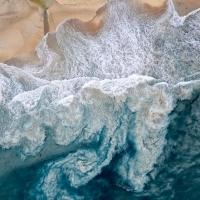 Chris Saunders - 'Aerial Coast 010'