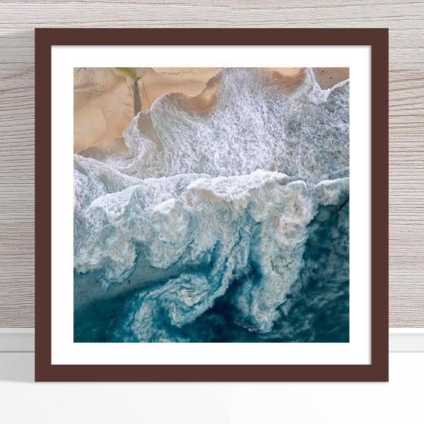 Chris Saunders - 'Aerial Coast 010' Dark Frame