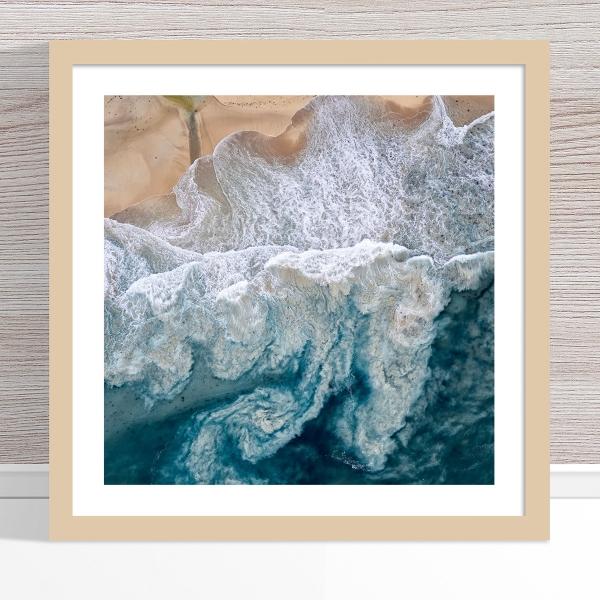 Chris Saunders - 'Aerial Coast 010' Light Frame