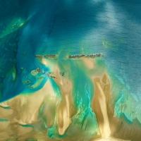 Chris Saunders - 'Aerial Coast 011'