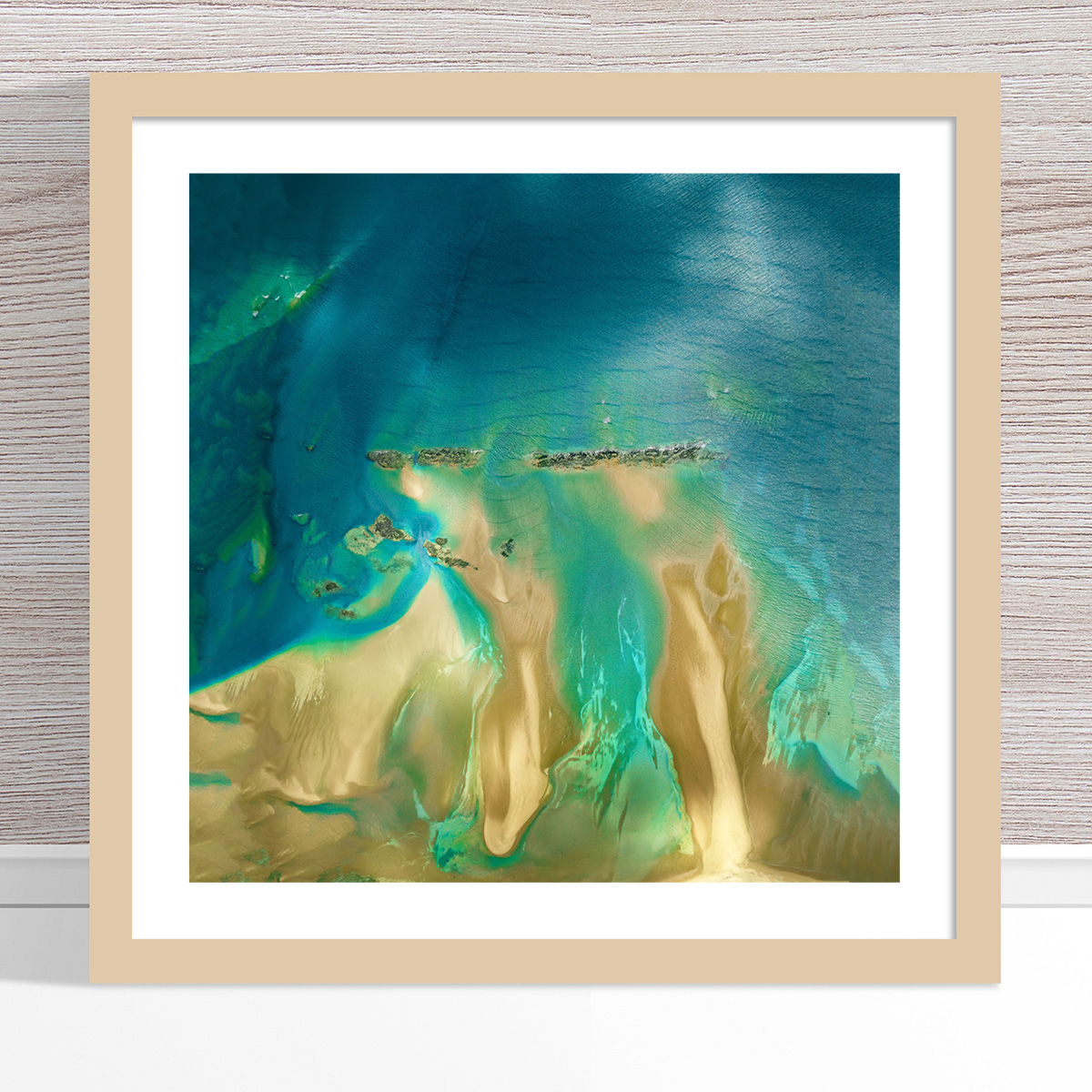 Chris Saunders - 'Aerial Coast 011' Light Frame