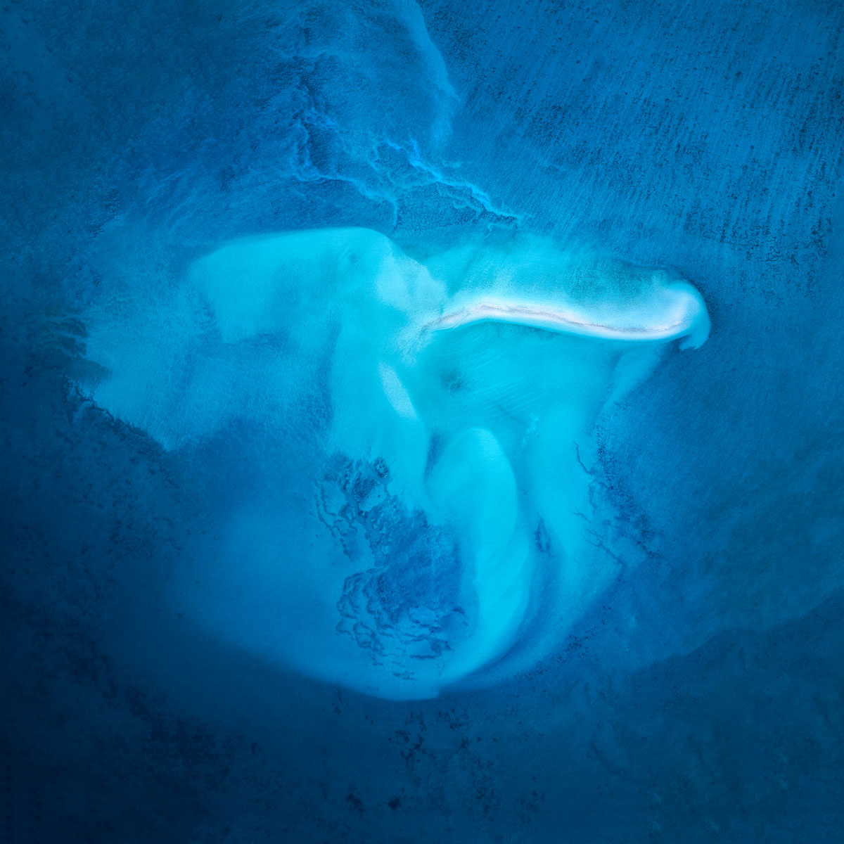 Chris Saunders - 'Aerial Coast 012'