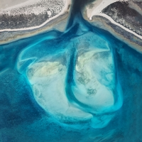 Chris Saunders - 'Aerial Coast 014'