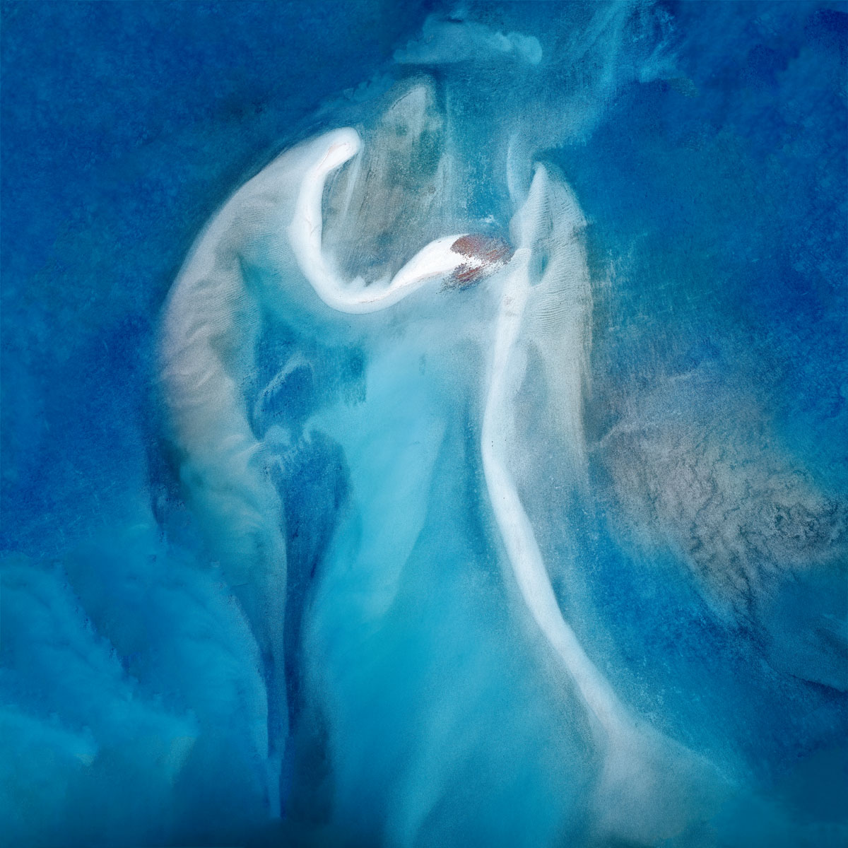 Chris Saunders - 'Aerial Coast 015'