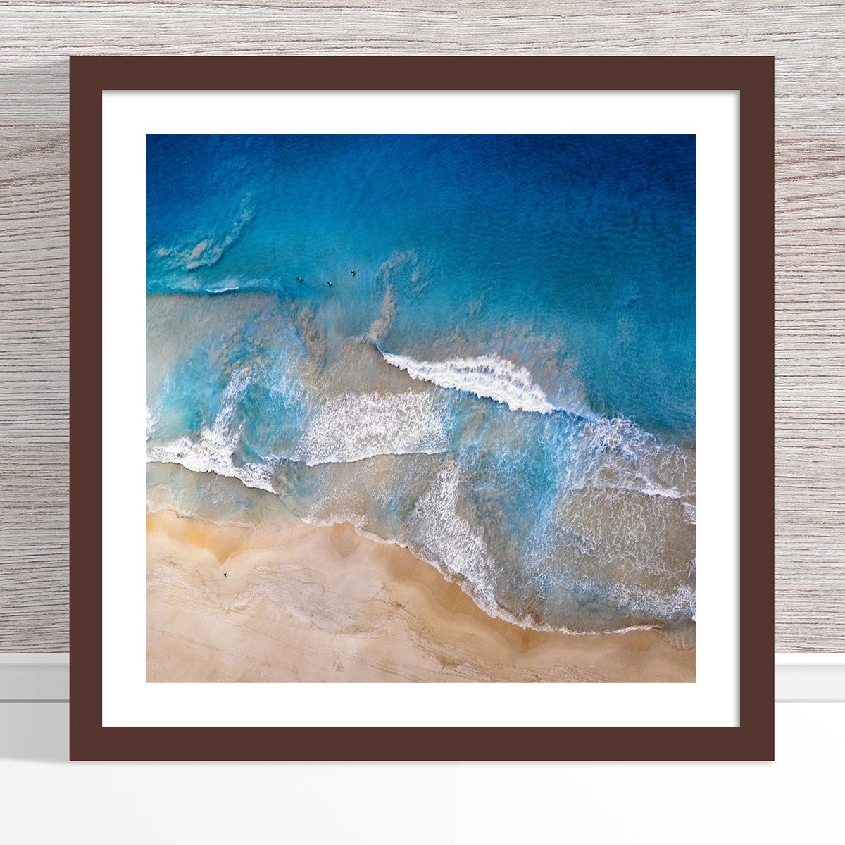 Chris Saunders - 'Aerial Coast 020' Dark Frame