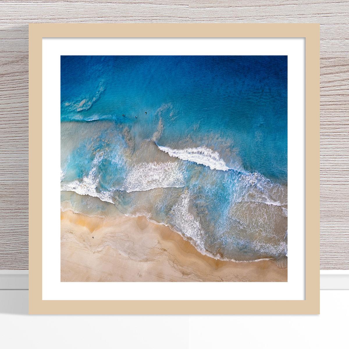 Chris Saunders - 'Aerial Coast 020' Light Frame