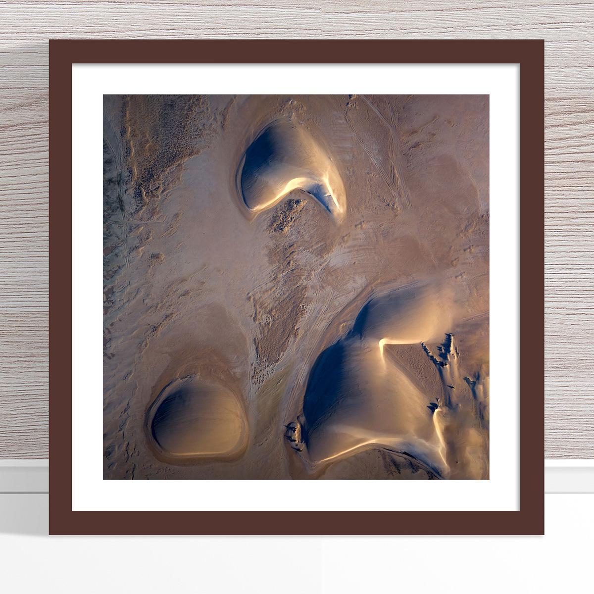 Chris Saunders - 'Aerial Dunes 001' Dark Frame