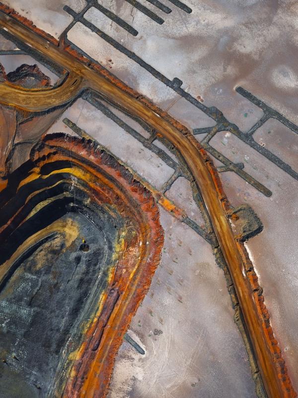 Chris Saunders - 'Aerial Industrial 001'