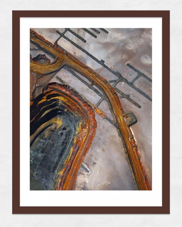 Chris Saunders - 'Aerial Industrial 001' Dark Frame
