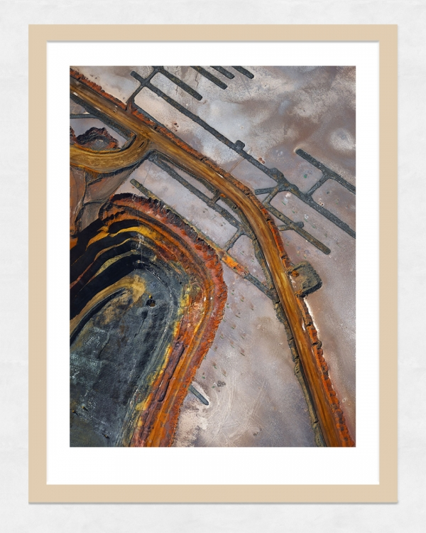 Chris Saunders - 'Aerial Industrial 001' Light Frame