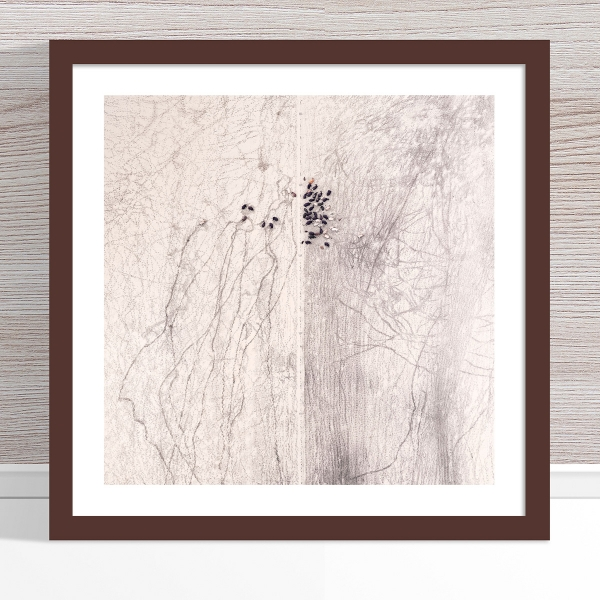 Chris Saunders - 'Aerial Outback 002' Dark Frame