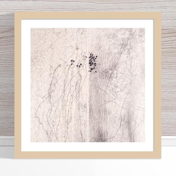 Chris Saunders - 'Aerial Outback 002' Light Frame