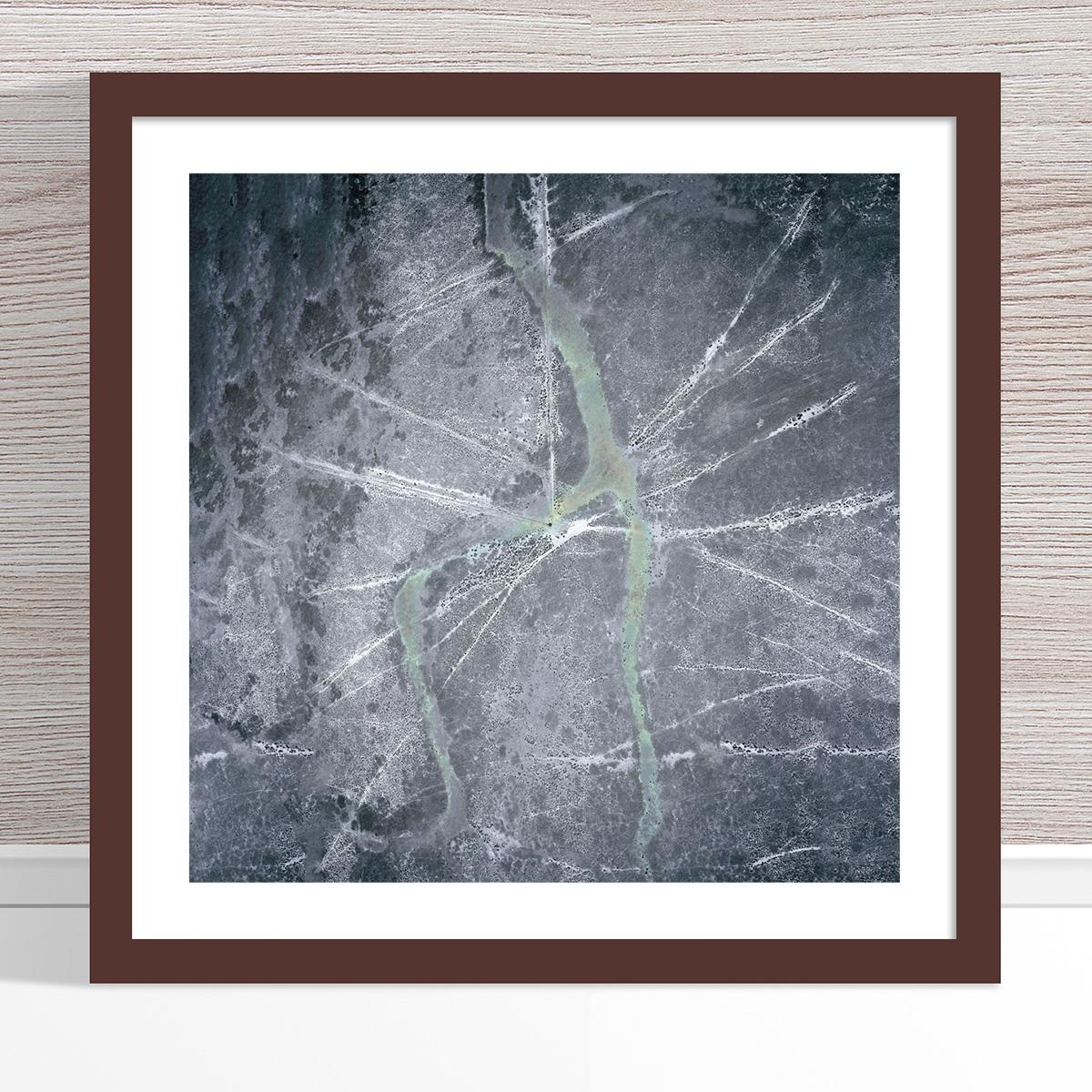 Chris Saunders - 'Aerial Outback 004' Dark Frame