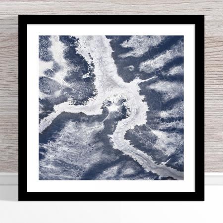 Chris Saunders - 'Aerial Outback 006' Black Frame
