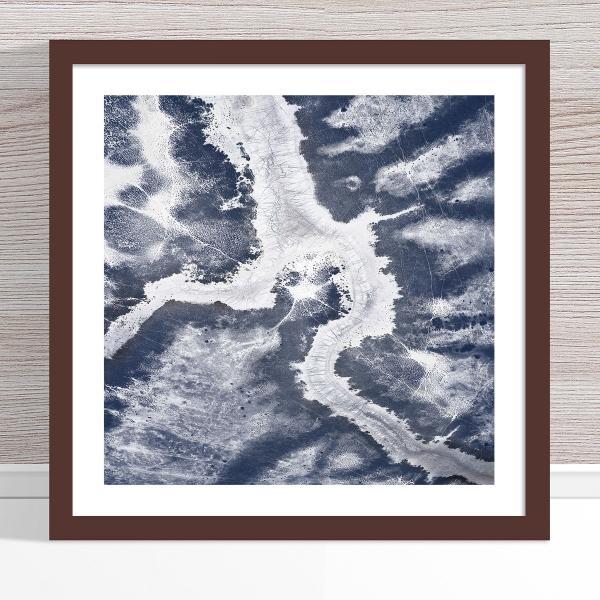 Chris Saunders - 'Aerial Outback 006' Dark Frame
