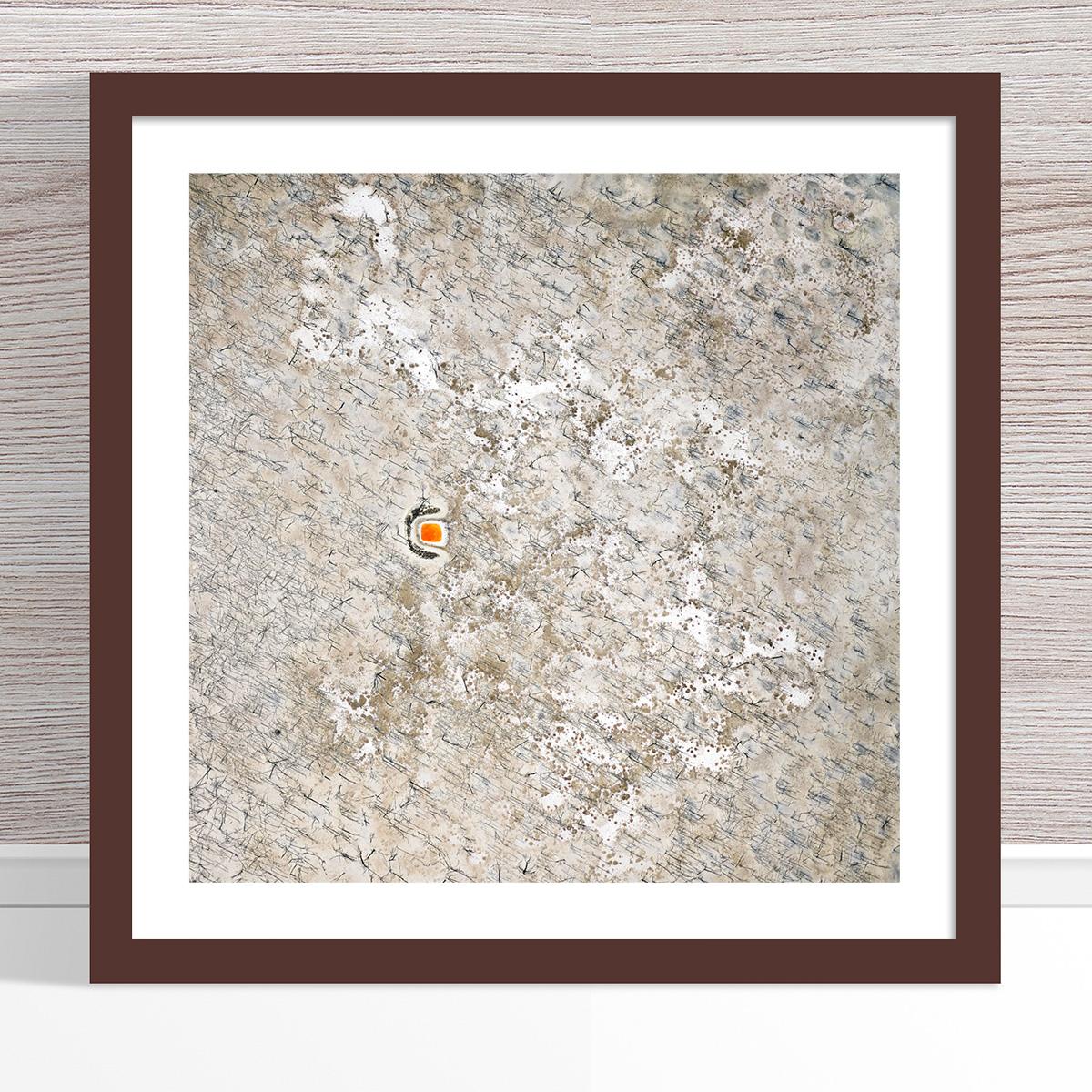 Chris Saunders - 'Aerial Outback 008' Dark Frame
