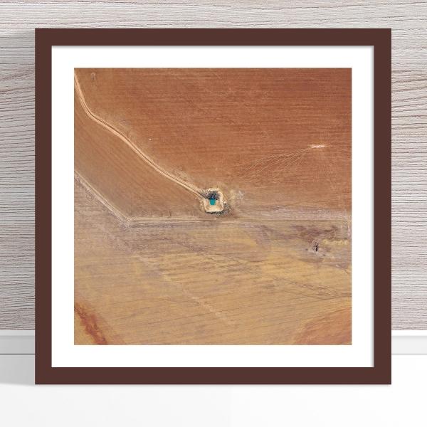 Chris Saunders - 'Aerial Outback 013' Dark Frame