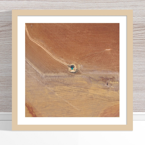 Chris Saunders - 'Aerial Outback 013' Light Frame