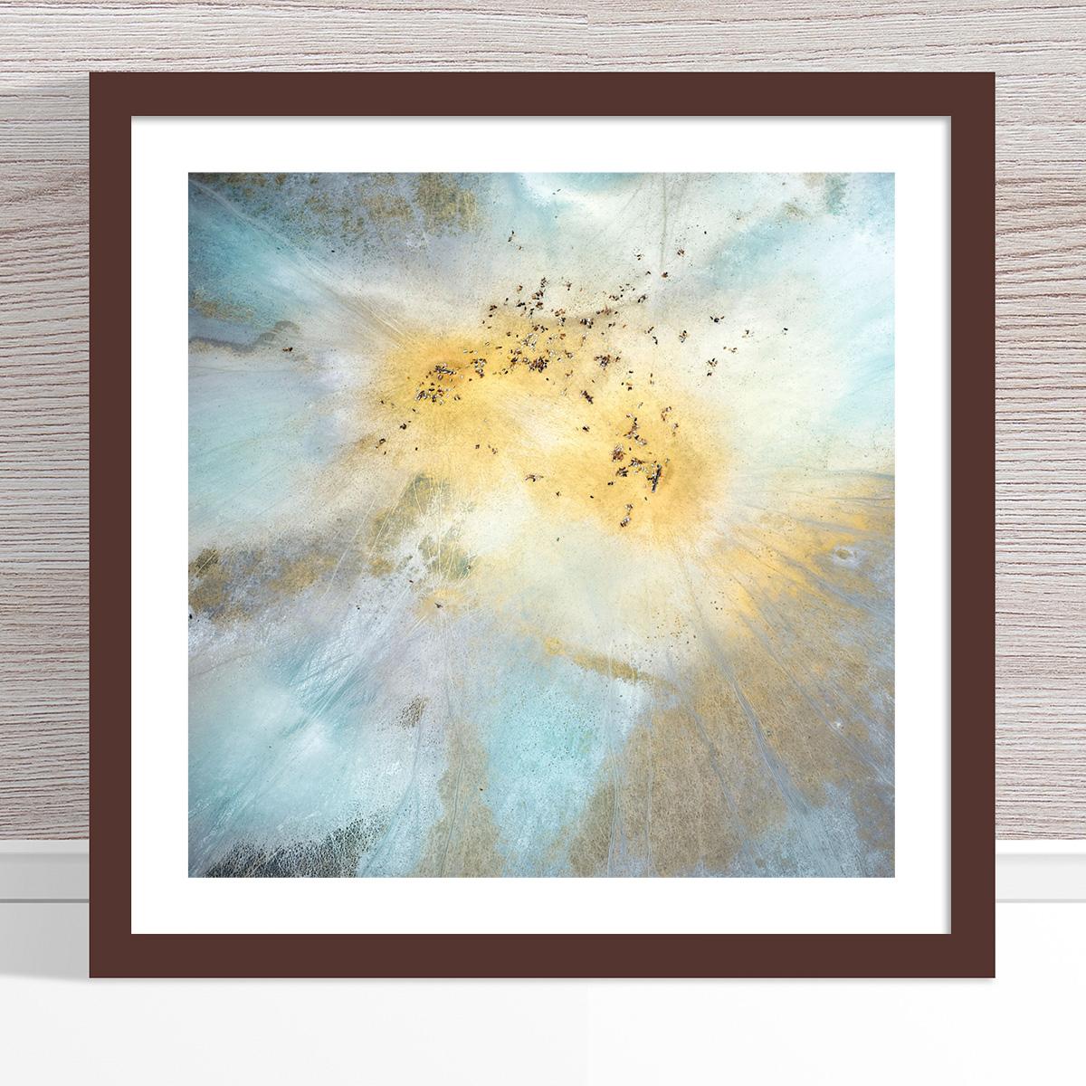 Chris Saunders - 'Aerial Outback 014' Dark Frame