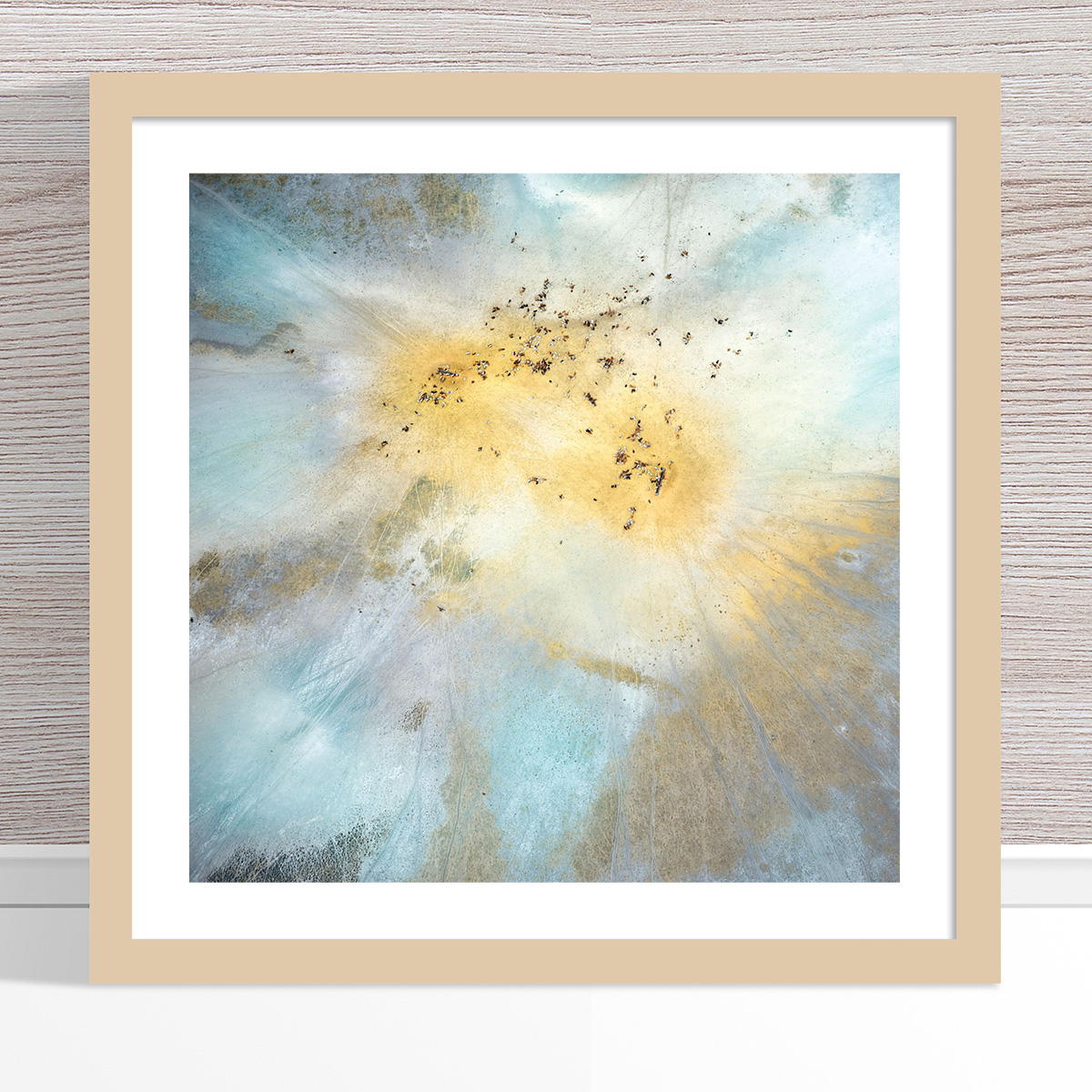 Chris Saunders - 'Aerial Outback 014' Light Frame