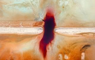 Chris Saunders - 'Aerial Salt 003'