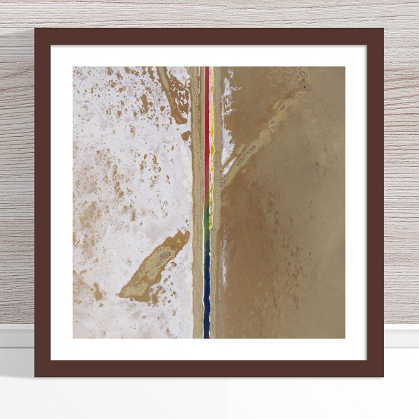 Chris Saunders - 'Aerial Salt 005' Dark Frame