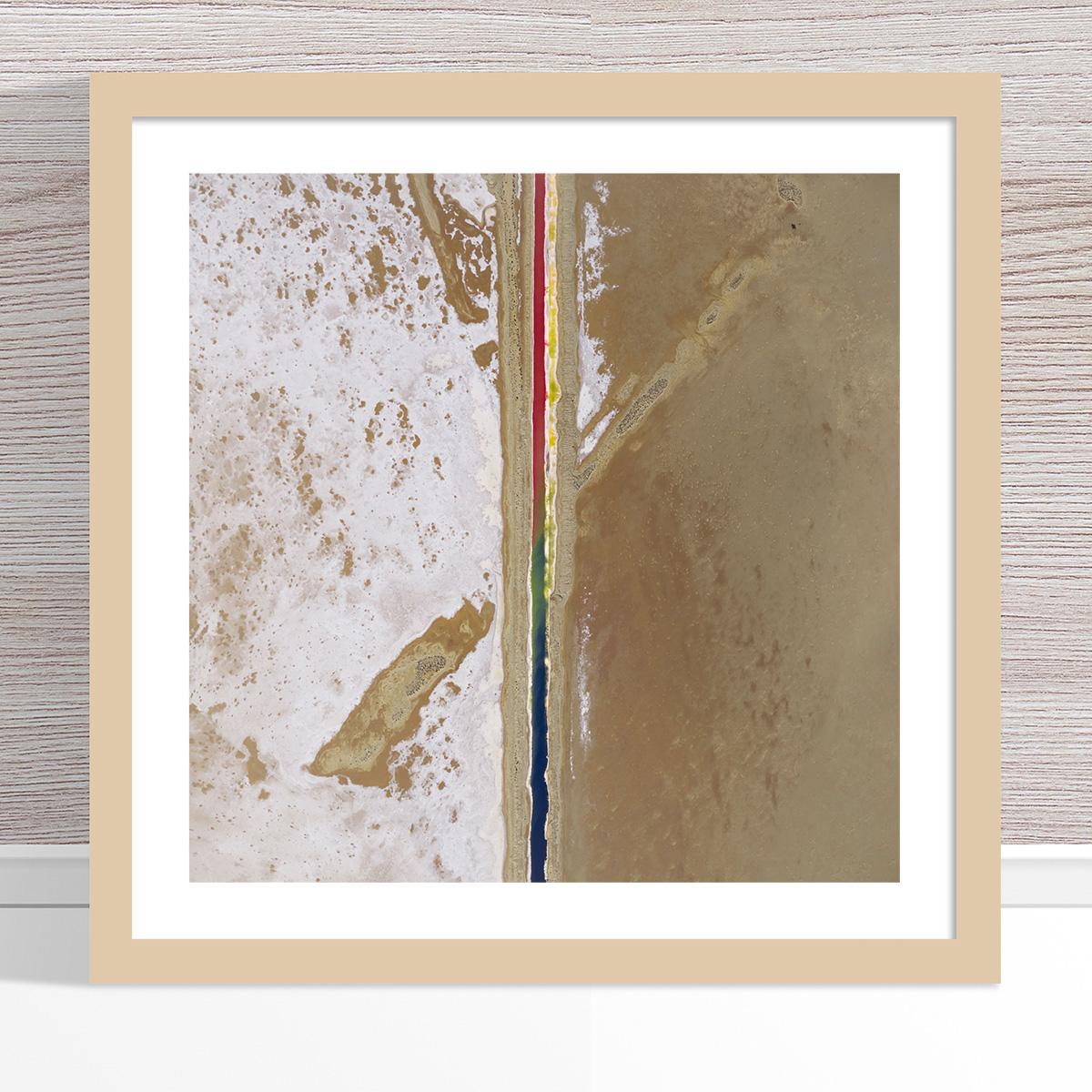 Chris Saunders - 'Aerial Salt 005' Light Frame