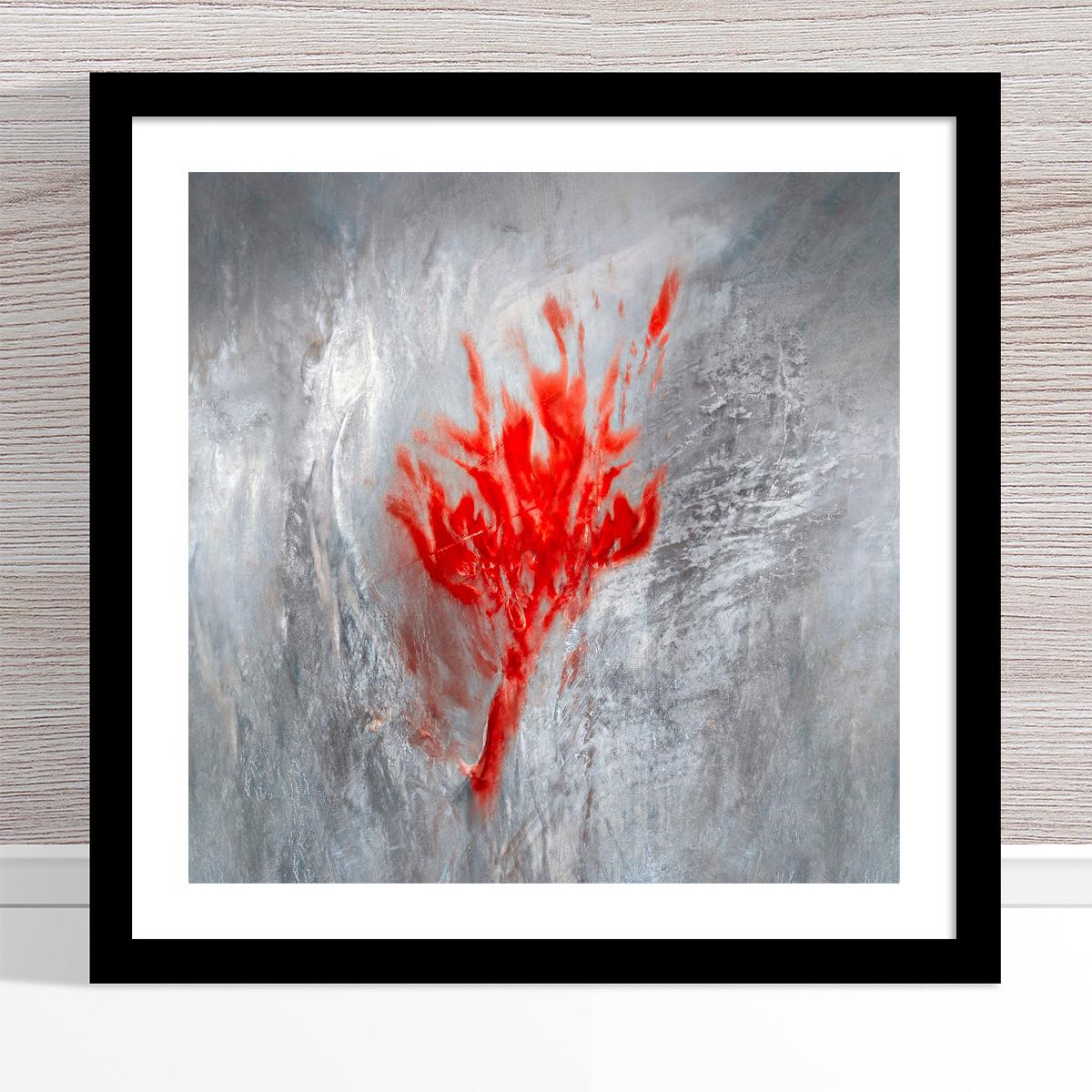 Chris Saunders - 'Aerial Salt 009' Black Frame