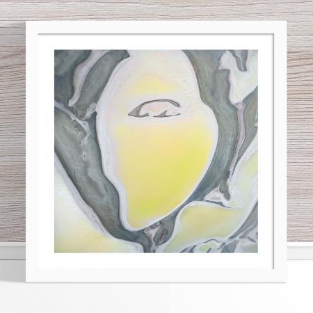 Chris Saunders - 'Aerial Salt 010' White Frame