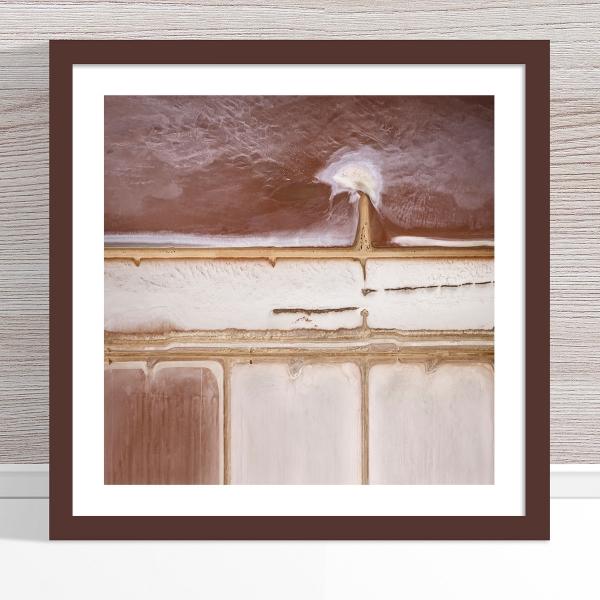 Chris Saunders - 'Aerial Salt 012' Dark Frame