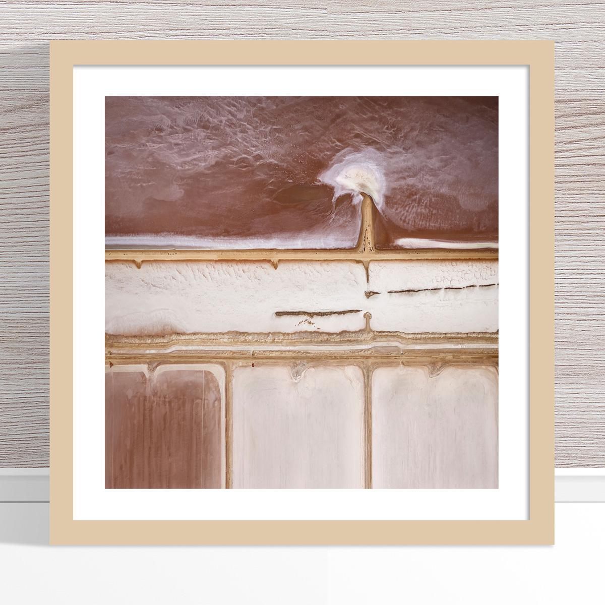 Chris Saunders - 'Aerial Salt 012' Light Frame