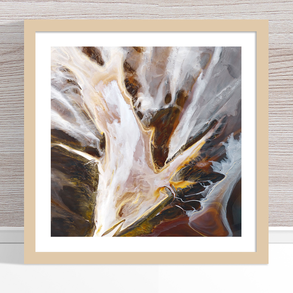 Chris Saunders - 'Aerial Salt 014' Light Frame