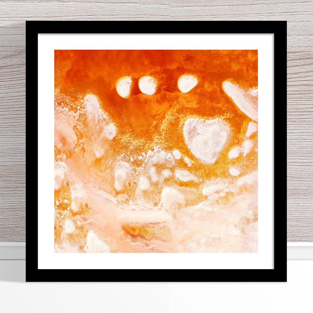 Chris Saunders - 'Aerial Salt 016' Black Frame