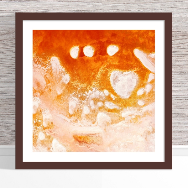Chris Saunders - 'Aerial Salt 016' Dark Frame