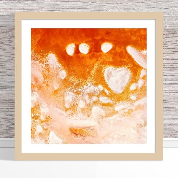 Chris Saunders - 'Aerial Salt 016' Light Frame